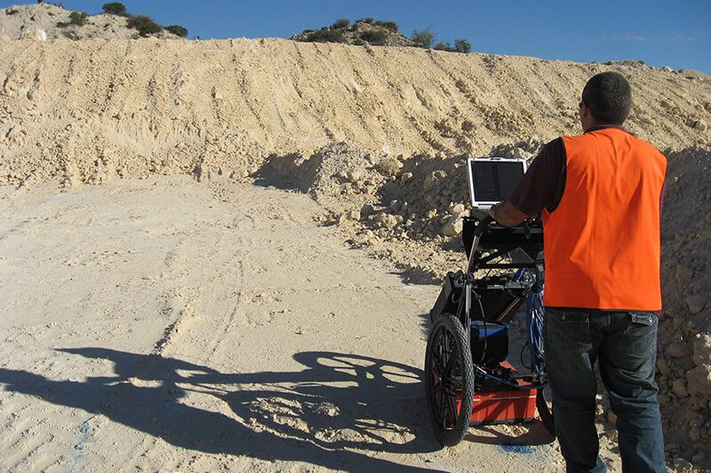 Field Tests and Techniques - Ground Penetrating Radar Survey