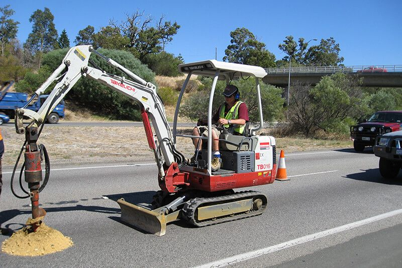 Pavement Services - SITE INVESTIGATION AND SAMPLING