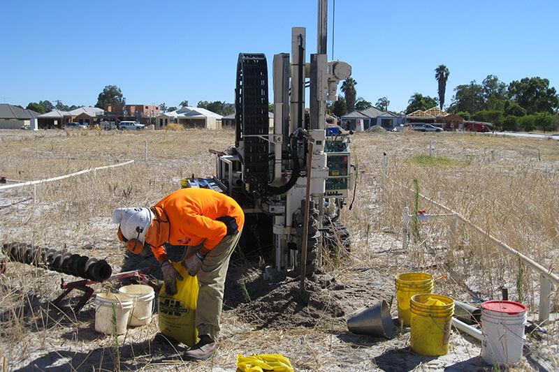 Site Investigation - Solid Auger Drilling